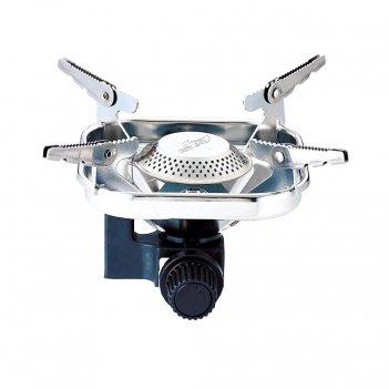 Горелка газовая квадратная kovea vulcan stove (вес-338г, пьезоподжиг, плас