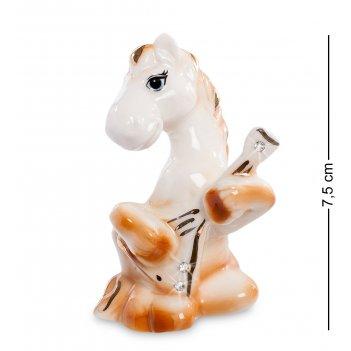Xa-385 фигурка лошадь с балалайкой