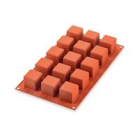Форма для приготовления пирожных cube, размер: 19 х 12 см, материал: силик