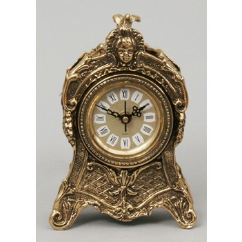 Часы из бронзы virtus золото 20х13см 5763