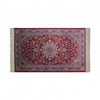 Прямоугольный ковёр atex c265, 0.7 х 1.1 м, цвет red