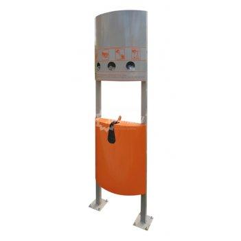 Урна для экскрементов «оранж»