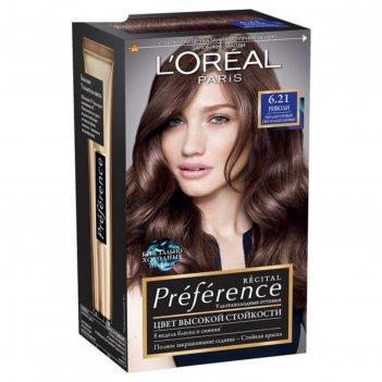 Краска для волос loreal preference, 6.21, риволи, 174 мл