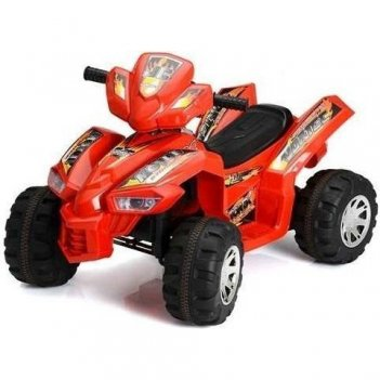 Красный электроквадроцикл 3-8 лет sport-jc 8068hd