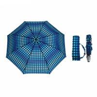 Зонт автомат, r=53см, цвет синий