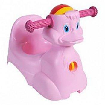 Горшок-игрушка уточка 2714la-rs розовый