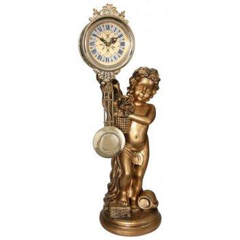 Скульптурные часы из полимерных смол восток 8400-1