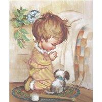 """""""утренняя молитва"""" рисунок для вышивания бисером"""
