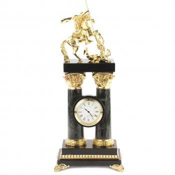 Часы георгий победоносец офиокальцит бронза