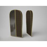 Чехол объемный для одежды малый «классик коричневый», 60х100х10 см