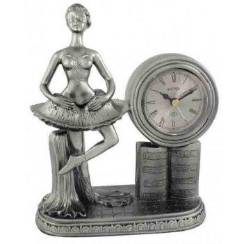 Скульптурные часы из полимерных смол восток к4724-5