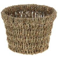Кашпо плетеное конус 19*19*14 см