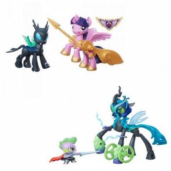 Пони 2 фигурки «харнители гармонии» с артикуляцией my little pony.