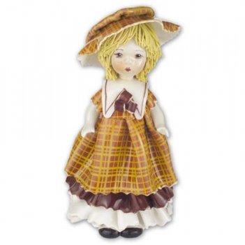 00028 кукла в желтом h15cm