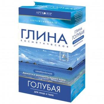 Глина косметическая lutumtherapia голубая, кембрийская, 100 г