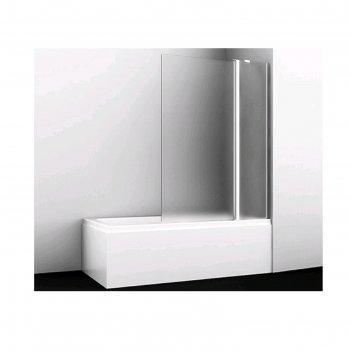 Ограждение на ванну wasserkraft berkel 48p02-110r matt glass, 1100 х 1400