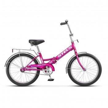 Велосипед 20 stels pilot-310, 2016, цвет фиолетовый, размер 13