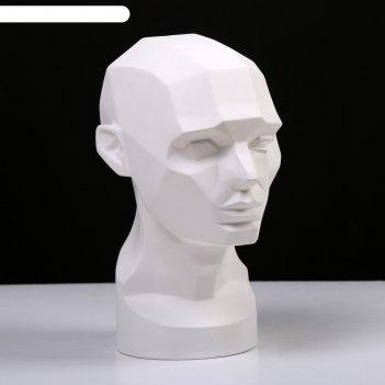 Гипсовая фигура обрубовка головы по асаро 17*23*33.5 10-172