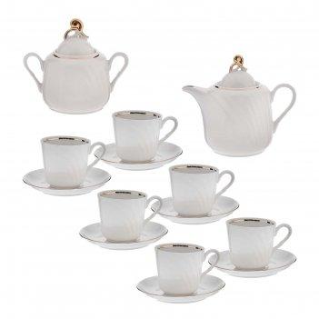 Сервиз чайный голубка. классик, 14 предметов