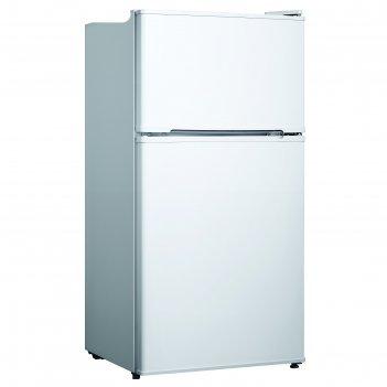 Холодильник zarget zrt 137w, двухкамерный, класс а+, 110 л, белый