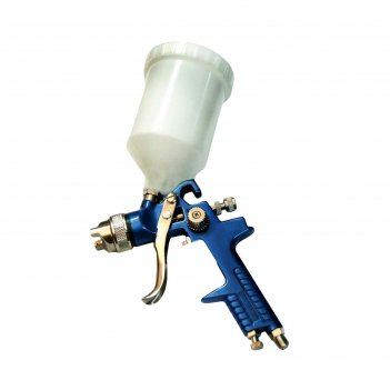 Краскораспылитель partner h-827-3v, с верхним пластиковым бачком, 600 мл,