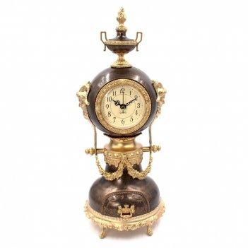 Часы настольные декоративные с музыкальной шкатулкой, l14,5 w10 h37 см, (1