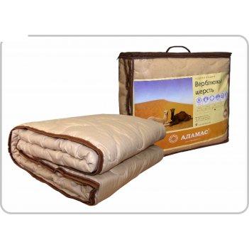 Одеяло всесезонное адамас верблюжья шерсть, размер 140х205 ± 5 см, 300гр/м