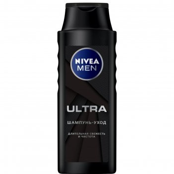 Шампунь nivea for men ultra, 400 мл