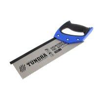 Ножовка по дереву tundra comfort для стусла каленый зуб 5мм, 300мм