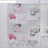 Штора для ванной 180x180 см «дзен», eva