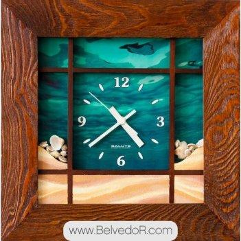 Настенные часы салют дсз - 4ас28 - 124