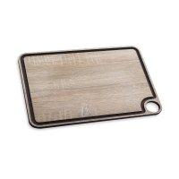 Доска разделочная с желобом 37,7х27,7 см, материал: дерево, серия accessor