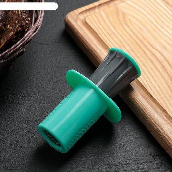 Пресс для чеснока 11 см конус, цвета микс