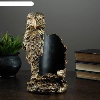 Подставка под бутылку орел бронза 15х14х25см