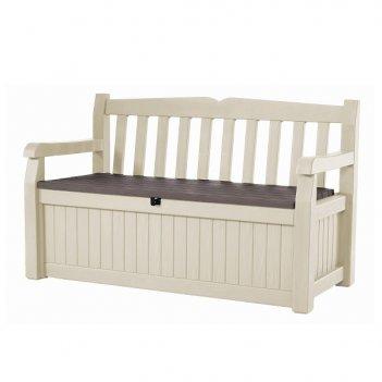 Скамья-сундук садовая keter eden garden bench