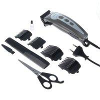 Машинка для стрижки волос zimber zm-10038, 4 насадки