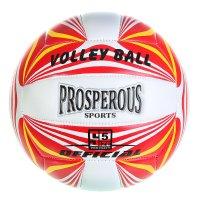 Мяч волейбольный prosperous р.5 18 панелей, pu, бутиловая камера, 250гр,