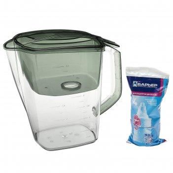Фильтр для воды барьер гранд. малахит 3,6 л