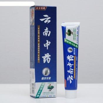 Зубная паста китайская традиционная на травах 100 гр