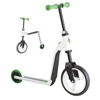 Детский самокат-беговел трансформер scoot&ride highway freak зеленый