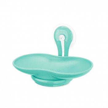 Мыльница, размер: 14 х 9 см, материал: термопластик, цвет: зеленый, серия