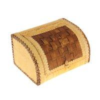 Хлебница-шлем плетеная на 1 булку , 27 х 23 х 17 см