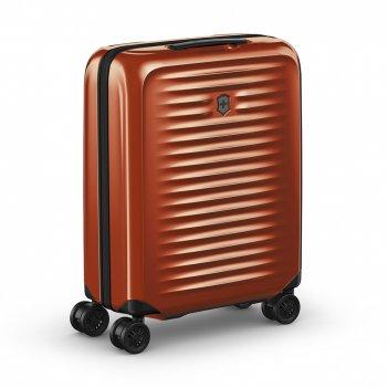 Чемодан victorinox airox, оранжевый, 100% поликарбонат makrolon, 40x20x55