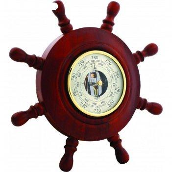 Штурвал сувенирный с3 барометр