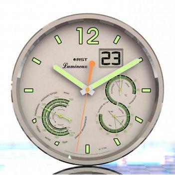 Настенные часы - метеостанция lumineux 77745