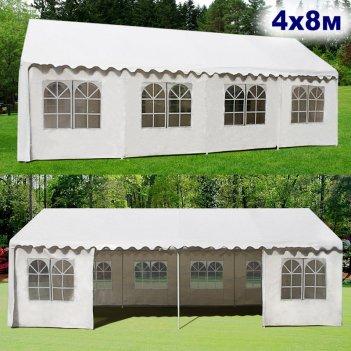 Шатёр павильон 4x8м. ткань pvc/500gr.