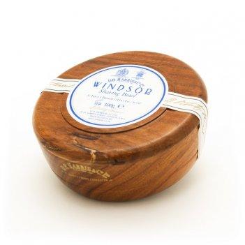 Твердое мыло для бритья в чаше из палисандра d. r. harris, windsor, 100 гр