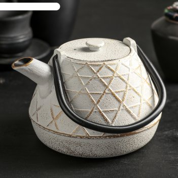 Чайник с ситом 1 л ламис, цвет микс