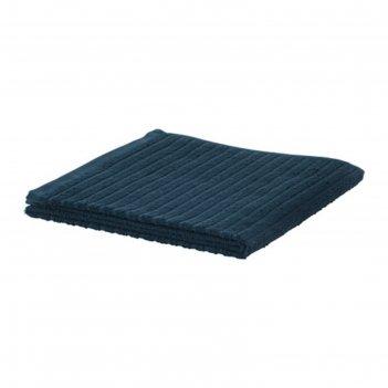 Полотенце вогшён, размер 50 x 100 см,тёмно-синий