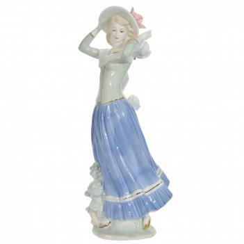 Фигурка декоративная девушка, l11 w12 h31 см